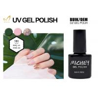 Quality Safe Formaldehyde Free Gel Nail Polish , Pure Gel Nail Polish New Style for sale