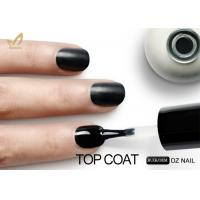Quality No Yellowish UV LED Gel Nail Polish Wipe Top Coat Long Lasting Smooth Surface for sale