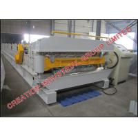 Quality Double Layer Aluminium Long Span and Metcopo Steptiles Roofing Sheet Corrugating Machine for sale