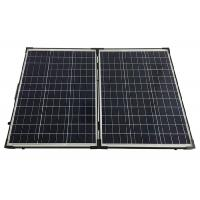 Quality Polycrystalline Silicon Folding Solar Panels 160W With Heavy Duty Padded Carry Bag for sale