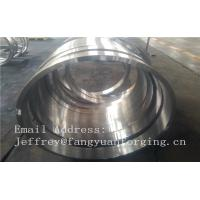 Quality 1.6981 21CrMoNiV4-7  Metal forged part  EN10269 Forged Rings for sale