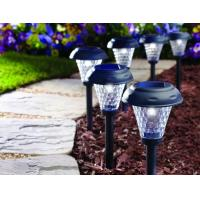 Quality Wireless Garden Solar LED Lights ABS Material Auto Identify Day And Night for sale