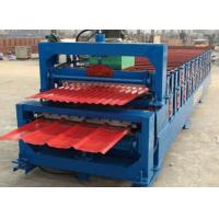 Quality 5.5KW High Speed Roof Panel Roll Forming Machine With High Precision In Cutting for sale