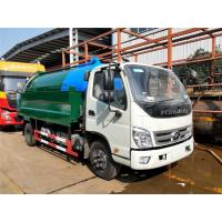 China Sewage Suction Cleaning Truck 5000 Liters Dust Tank With 2000 Liters High Pressure Water Tank on sale