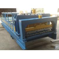 Quality Steel IBR Roofing Wall Roof Tile Making MachineHydraulic Cutting Type for sale
