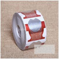 Quality Paper Gel Nail Form Fish Shape Private Label Nail Extension Holder for sale