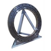 Quality Double-row Angular Contact Thrust Ball Slewing Bearing with Large Size 021.40.1400 for sale