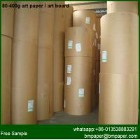 Magazine Printing 150 157gsm Gloss Art Paper for sale
