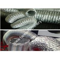 Buy HAVC Aluminum Flexible Duct Machine For Both Single Layer And Double Layer Foil at wholesale prices