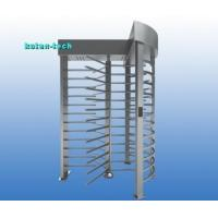 Quality 304 Stainless Steel Full Height Turnstile Gate Biometric Access Control for sale