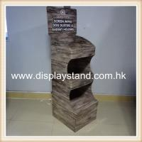 Quality Pet Foods Retail Display With 4 Colors CMYK Printing , 3 Tiers / Shelf for sale