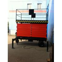 China 12M Over Height Protected Device Electric Aerial Hydraulic Portable Scissor Lift Table on sale