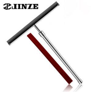 Quality Telescopic Adjustmen Stainless Steel Window Squeegeet Wiper For Shower Door Mirror Floor for sale