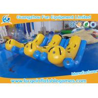 Buy Large Inflatable Kids Teeter Totter Toys For Water Sport Games / Water Game Equipment at wholesale prices