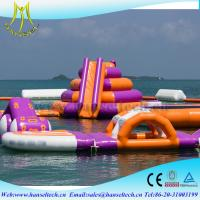 Quality Hansel commercial inflatable kids water park sport game for sale