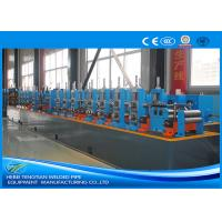 Quality Carbon Steel Steel Tube Production Line , Round Pipe Manufacturing Machine for sale