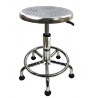 Quality Synthetic Leather 320mm ESD Chemistry Laboratory Stool Adjustable for sale