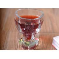 Buy Clear 1 Ounce Tall Shot Glass / Plain Glass Shot Glasses For Drinking at wholesale prices