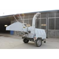 Quality DH40 Diesel Engine Wood Chipper. double hydraulic feeding type, high efficiency for sale