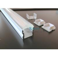 Quality linear led profile with 10 degree,led lens profile, pmma clear diffuser for sale