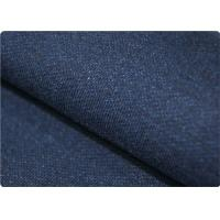 Quality International Knit Denim Fabric , Combed Yarn Chambray Fabrics for sale