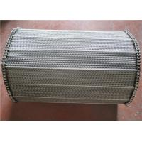 Quality Spiral Wire Mersh Stainless Steel Conveyor Belt For Drying Ovens for sale