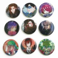 Quality Perfect Binding 3D Lenticular Printing Service 3D Lenticular Badges Tin 35mm Button for sale