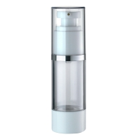 Buy cheap JL-AB101 Round 15ml 30ml SAN AS Airless Pump Bottles from wholesalers