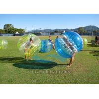 Quality Heat Sealed 1.2m Dia. Inflatable Human Zorb Ball 1.00mm PVC For Rental for sale