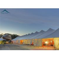 Quality White PVC Marquee  20x20 Party Tent Used For Commercial Outdoor Party Activity for sale