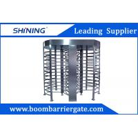 Quality 30 Person / Min RFID Bi - Directional Full Height Turnstile With Double Channel for sale