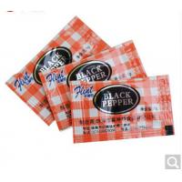 Quality Black Pepper Packaging Sachets Film In Rolls Custom Packaging Bags 50 Micron for sale