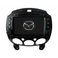 """Quality 8"""" Inch TFT LCD 2 Din Multi - Function IR Remote Control Bluetooth Steering Wheel Mazda 2 DVD GPS ST-777 for sale"""