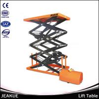Quality Capacity 400/800kg Electric Lifting Four Scissors Lift Table for Sale for sale
