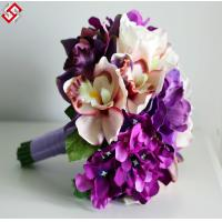 Quality Artificial Floral Wedding Bridal Bouquet Christmas Gift for sale