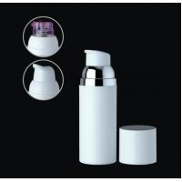 Quality 50ml  30ml empty plastic cosmetic airless cylinder bottle for sale