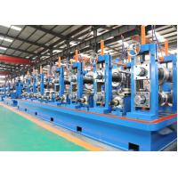 Quality Friction Saw Cutting ERW Pipe Mill / SS Tube Mill Machine for sale