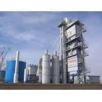 Quality Accurate Dosing Asphalt Batching Plant 120T Finished Product Bin Placed Under Mixer for sale