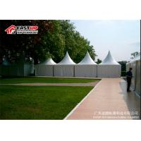 Aluminum Frame 10x10 Festival Tent , Heated Tents For Party No Interior Poles