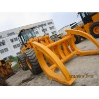 China 2ton to 10ton load capacity log loader FD968-J wheel loader with clamp on sale