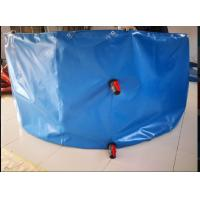Quality Round Shape Collapsible PVC Coated Fish Pond Tank Material Tarpaulin Cover for sale