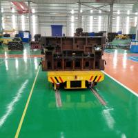 Quality 20t battery power electric rail transfer car for metal industry handling for sale