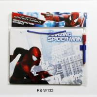 Buy cheap Spider Man Hanging Dry Erase Board with Marker/Kids Drawing Board from wholesalers
