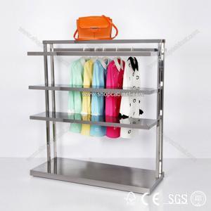 Quality Folding Custom Metal Garment Display Rack for sale