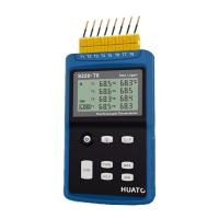 Quality High Precision 8 Channel Thermocouple Data Logger Large LCD Display With Back Light for sale