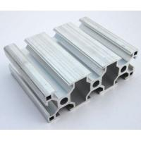 Quality 6005 / 6063 T5 Extruded Aluminum Framing , Assembly Line Profile For Electromechanical Parts for sale