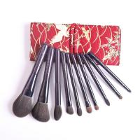 Buy cheap Factory direct sale new 10 stars purple meteor gift box novice makeup brush set from wholesalers