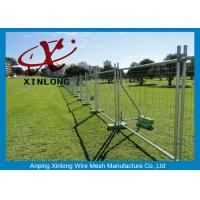 Buy Playground Temporary Chain Link Fence Panels Various Size / Color Acceptable at wholesale prices