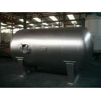 Quality Stationary Horizontal Nitrogen Stainless Steel Tanks And Pressure Vessels for sale