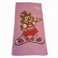 Quality Beach Towel, Customer's Logo are Accepted for sale